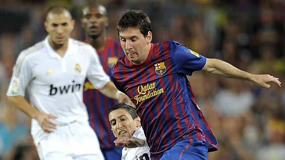 BARCELONA 3 - REAL MADRID 2