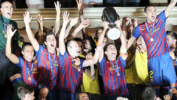 BARCELONA CAMPEÓN DE LA SUPER COPA DE LA UEFA 2011