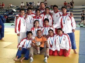 MEDALLA DE ORO PARA JUDOKAS PERUANOS EN CHILE
