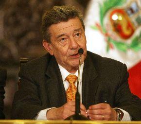 MINISTRO DE RELACIONES EXTERIORES RAFAEL RONCAGLIOLO