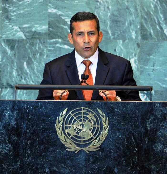 PRESIDENTE OLLANTA HUMALA EN LA ONU 2011