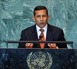PRESIDENTE OLLANTA HUMALA TASSO EN LA ONU