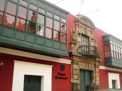 TRIBUNAL CONSTITUCIONAL DEL PERU ANULA FAENONES DE ALAN GARCIA