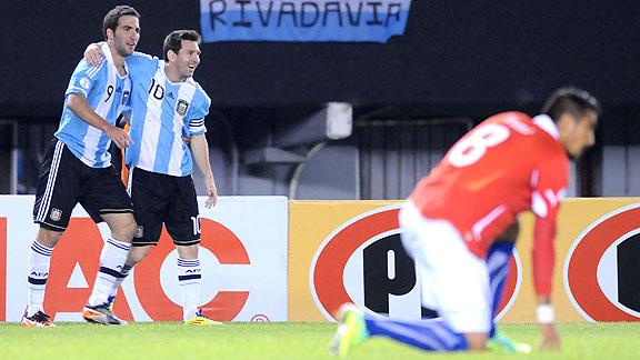 ARGENTINA 4 - CHILE 1