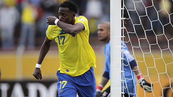 ECUADOR 2 - VENEZUELA 0
