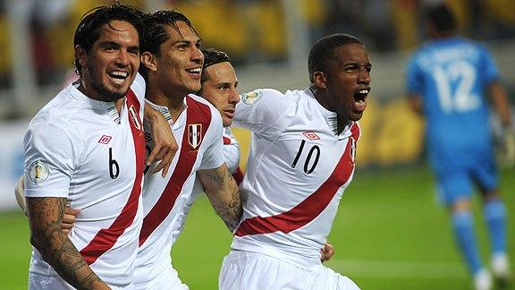 PERU 2 - PARAGUAY 0