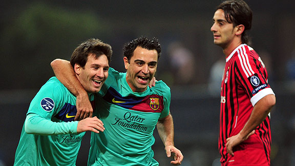 UEFA Champions League 2011-2012: AC Milan vs Barcelona FC ...