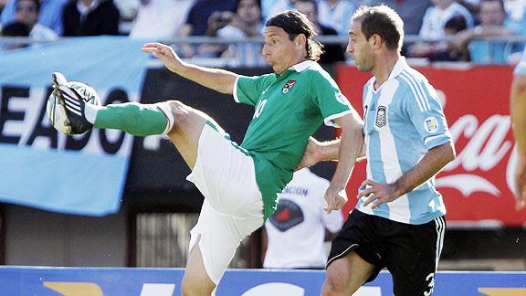ARGENTINA 1 - BOLIVIA 1