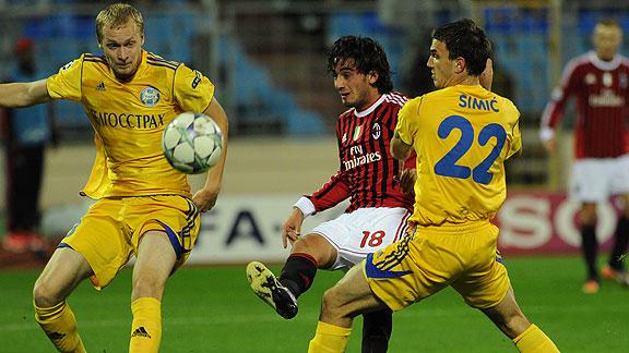 BATE Borisov 1 - AC Milan 1