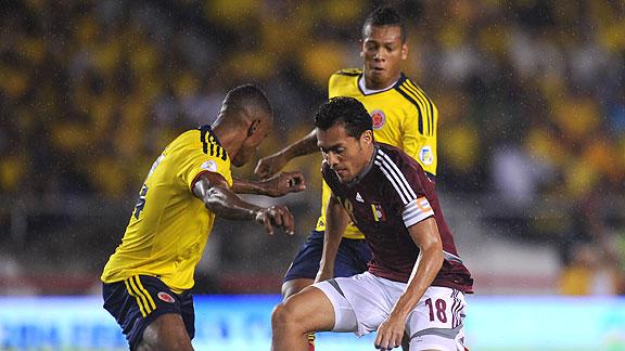 COLOMBIA 1 - VENEZUELA 1
