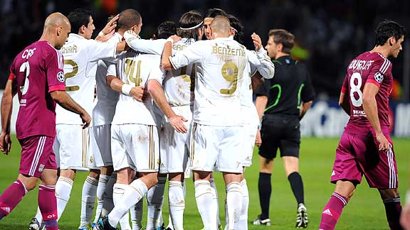 LYON 0 - REAL MADRID 2