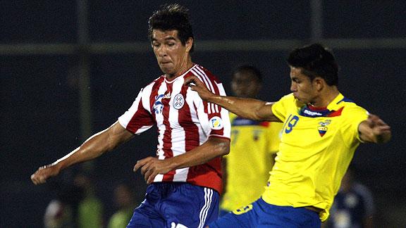 PARAGUAY 2 - ECUADOR 1