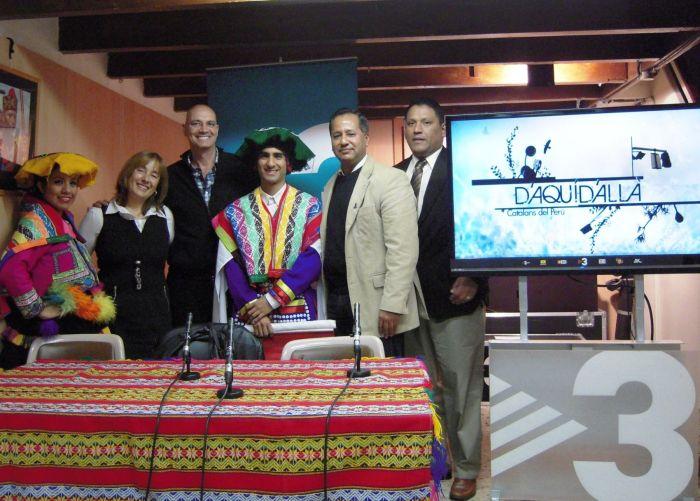 TELEVISIÓN DE CATALUÑA DEDICARÁ MES AL PERÚ
