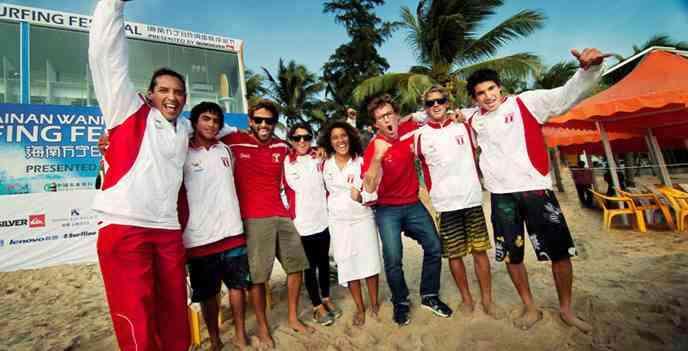 PERÚ CAMPEÓN DE SURF EN EL CHINA CUP 2012