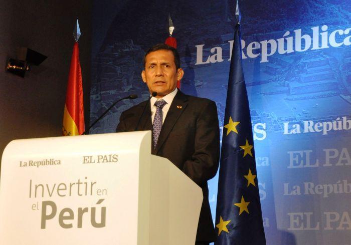 PRESIDENTE OLLANTA HUMALA EN ESPAÑA