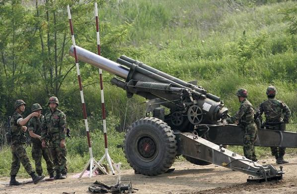 SOUTH KOREA ARTILLERY
