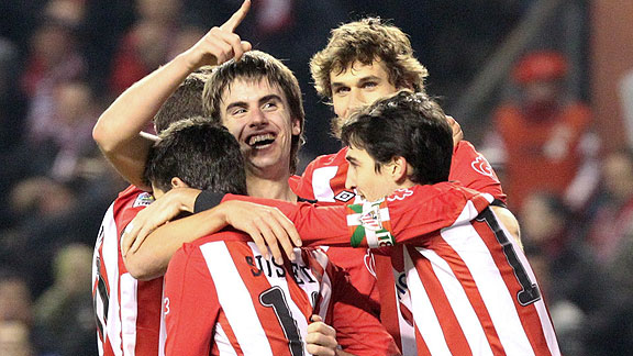 ATHLETIC BILBAO 6 - MIRANDES 2