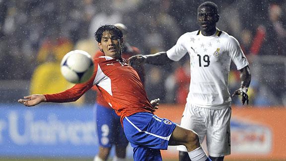CHILE 1 - GHANA 1