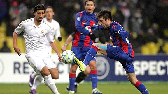 CSKA MOSCU 1 - REAL MADRID 1