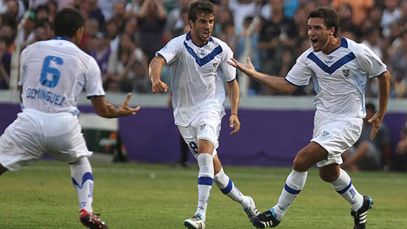 DEFENSOR SPORTING 0 - VELEZ SARSFIELD 3
