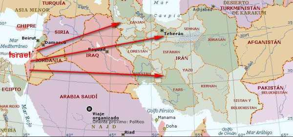 GUERRA ISRAEL IRAN