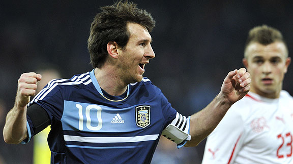 SUIZA 1 - ARGENTINA 3