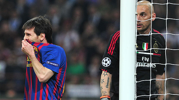 UEFA Champions League 2011-2012: AC Milan vs Barcelona ...