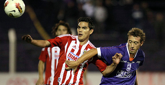 DEFENSOR SPORTING 1 - CHIVAS 0