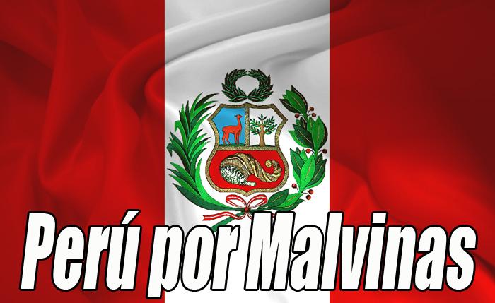 PERU ISLAS MALVINAS