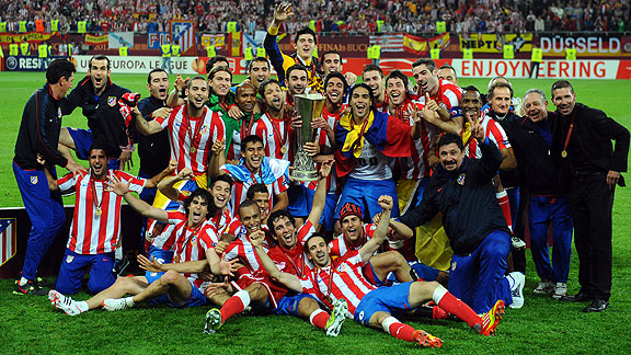 ATLETICO DE MADRID 3 - ATHLETIC DE BILBAO 0