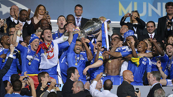 CHELSEA CAMPEON DE LA CHAMPIONS LEAGUE