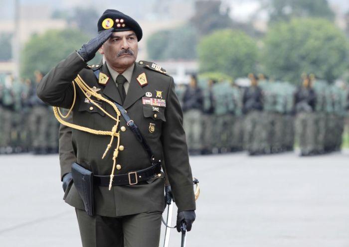 COMANDANTE GENERAL DEL EJERCITO PERUANO RICARDO MONCADA