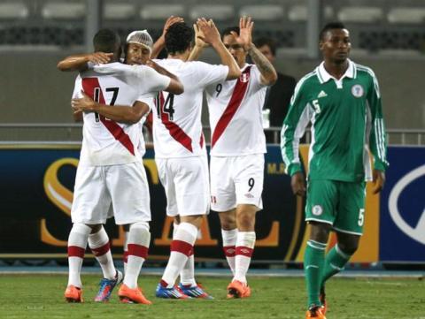 PERU 1 - NIGERIA 0