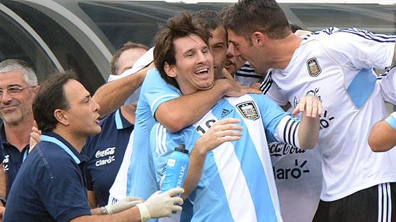 ARGENTINA 4 - BRASIL 3