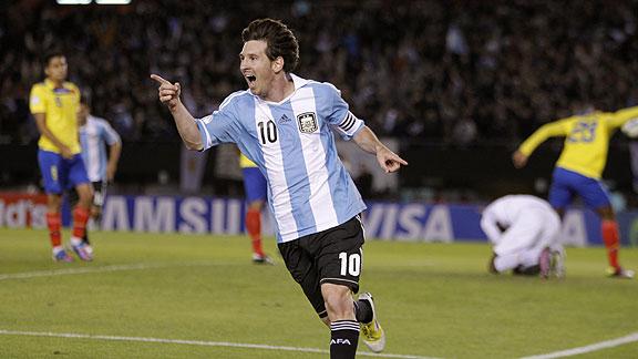 ARGENTINA 4 - ECUADOR 0