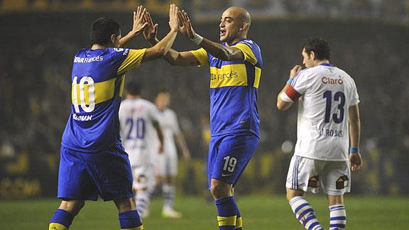 BOCA JUNIORS 2 - U DE CHILE 0