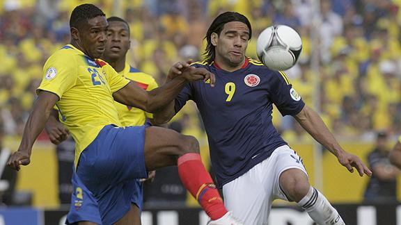 ECUADOR 1 - COLOMBIA 0