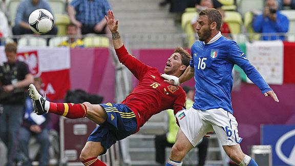 ESPAÑA 1 - ITALIA 1