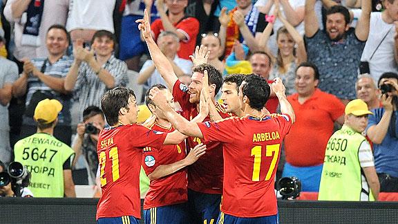 ESPAÑA 2 - FRANCIA 0