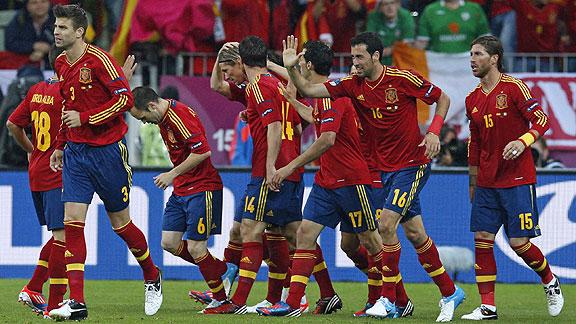 ESPAÑA 4 - IRLANDA 0