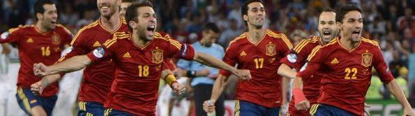 ESPAÑA ES FINALISTA DE LA EURO 2012