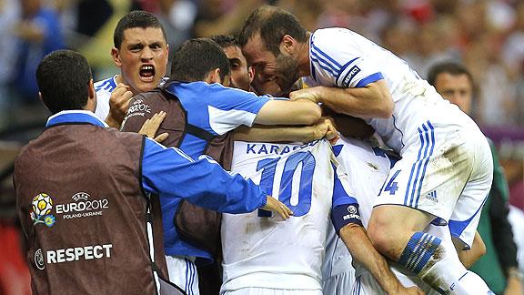 GRECIA 1 - RUSIA 0