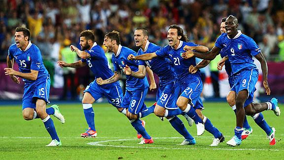ITALIA CLASIFICA A LA SEMIFINAL DE LA EUROCOPA 2012