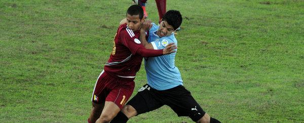 URUGUAY 1 - VENEZUELA 1