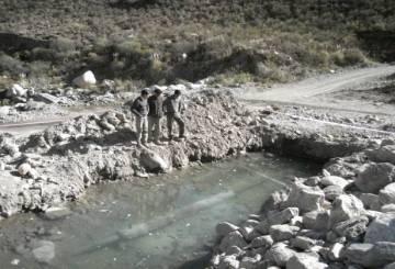 Derrame Bajo La Alumbrera  en el Río Villa