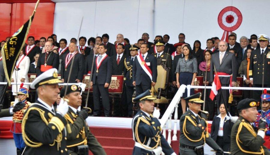 DESFILE MILITAR PERUANO 2012