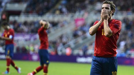 ESPAÑA 0 - HONDURAS 1