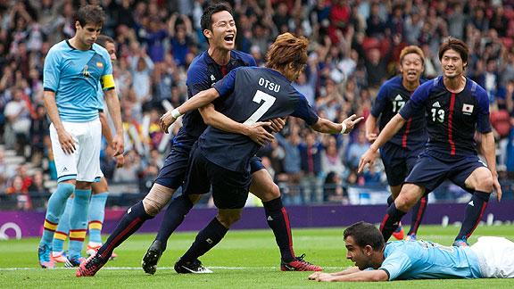 ESPAÑA 0 - JAPON 1