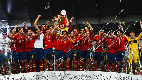 ESPAÑA CAMPEON DE LA EURO 2012