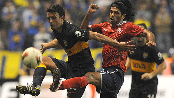 BOCA JUNIORS 3 - INDEPENDIENTE 3
